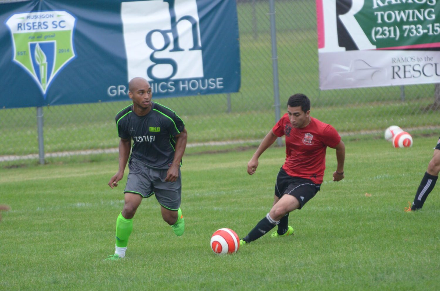 Muskegon Risers remain unbeaten at home following a 5-1 whipping of Brujos FC in front of another big crowd
