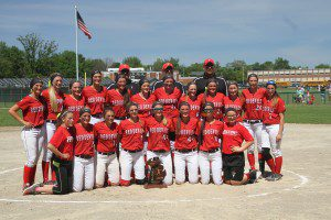 Division 4 regional champs, Holton High School. Photo/Scott Stone
