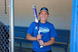 Montague's Kenadee Shugars has led her team to the state semis with her arm and bat. Photo/Jason Goorman