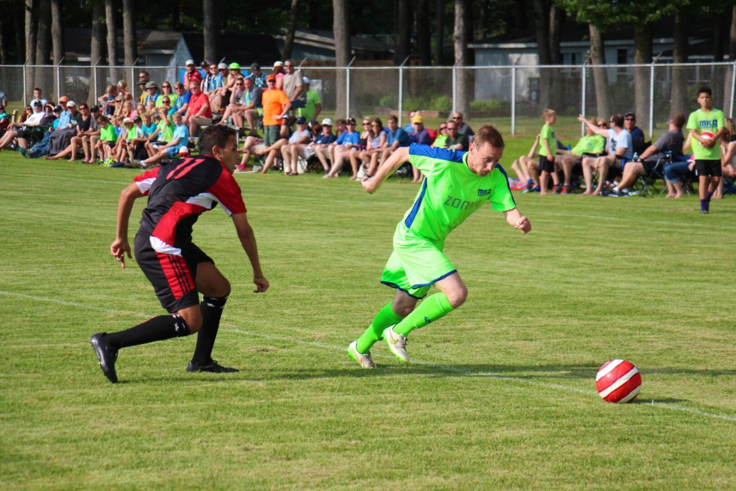 Muskegon Risers return to their winning ways at home with a 4-0 victory over the Michigan Stars