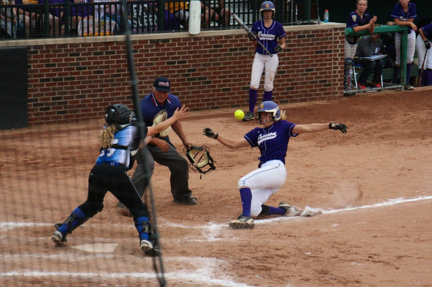 Montague softball team's Cinderella run ends with a 5-0 loss to Bronson in Division 3 semifinals