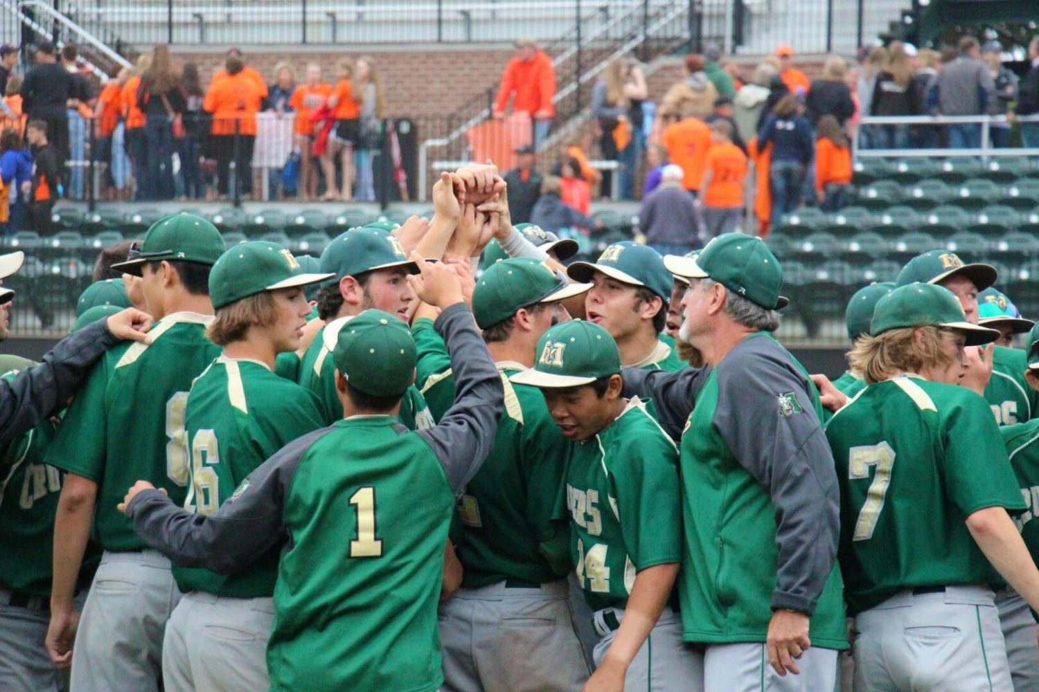 Devin Comes pitches MCC to a semifinal victory, setting up a state title showdown with Centreville on Saturday