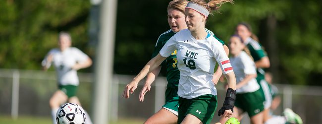 Western Michigan Christian girls soccer team loses a 2-1 heartbreaker to Calvin Christian in Division 4 regionals