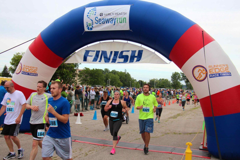 Mercy Health Seaway Run Top 10 men's and women's results
