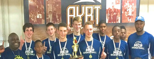 Reeths-Puffer eighth grade team posts 8-0 record, wins national title at AYBT basketball tournament in Fort Wayne