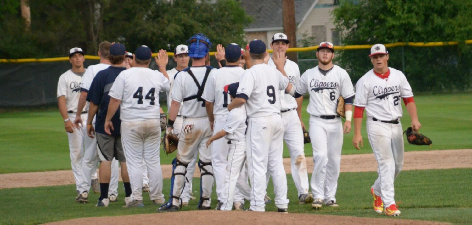 Muskegon Clippers beat River City 5-3, clinch summer league championship in front of a big crowd at Marsh Field
