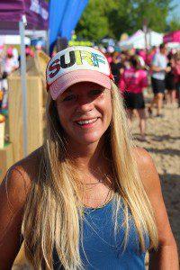 SUP enthusiast Shelly Hammond. Photo/Jason Goorman