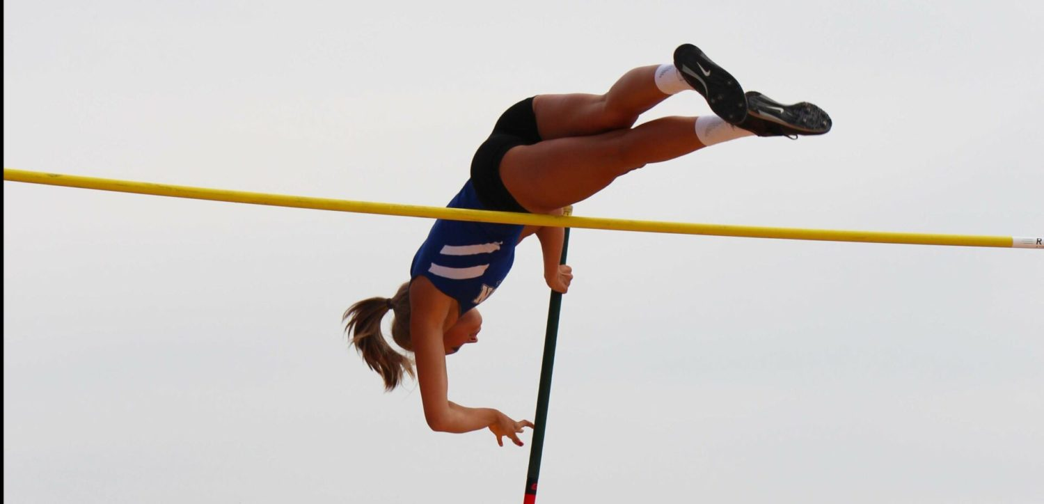 Spring Lake pole vault star Bella LeRoux tests herself against the best at Grand Haven Beach Vault