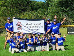 Oakridge District 12 Minors champs.