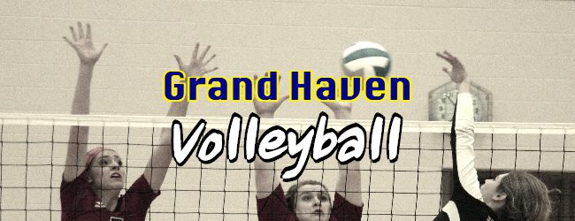 Grand Haven volleyball team clinches first O-K Red Conference championship since 2012