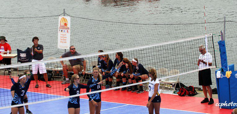 """Grand Haven volleyball team continues its domination of the """"Battle on the Boardwalk"""""""
