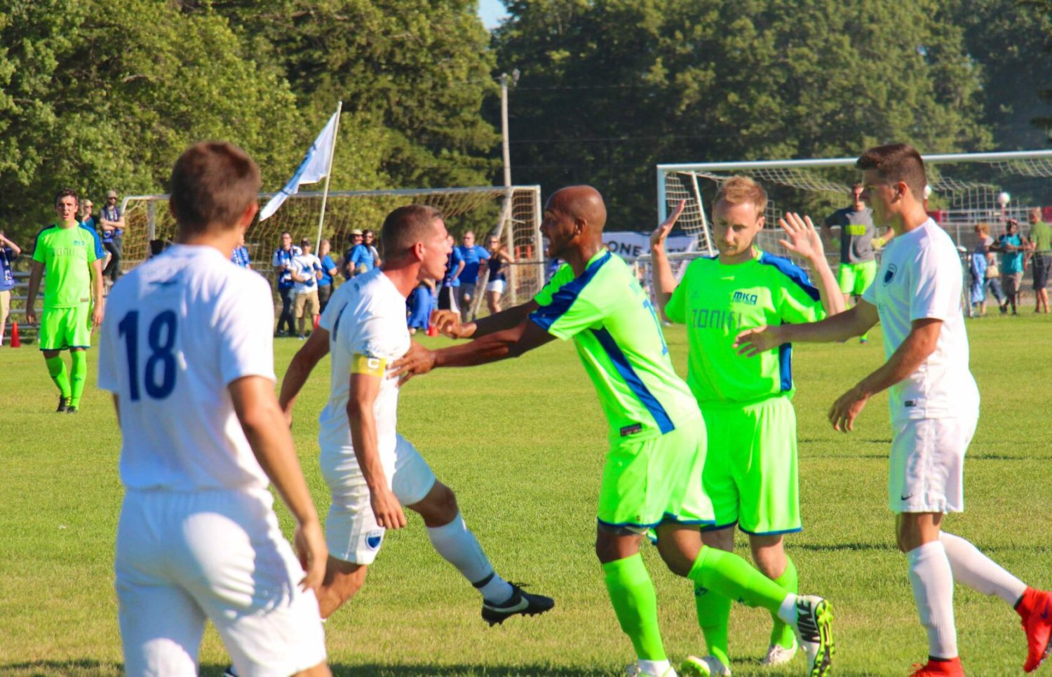 Risers wrap up the season with a second straight exciting victory over Grand Rapids FC