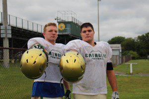 MCC's Nate Jones (left) and Jacob Holt. Photo/Jason Goorman