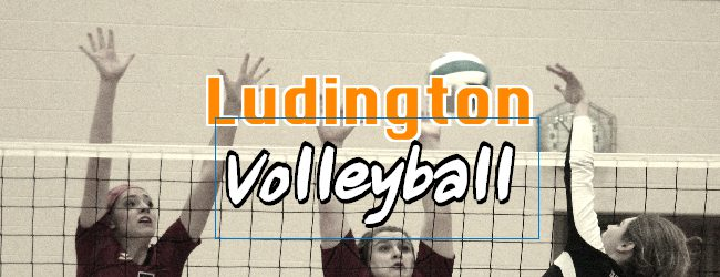 Ludington posts 2-1 record in volleyball quad-match