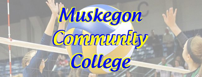 Muskegon Community College volleyball team remains unbeaten in league play