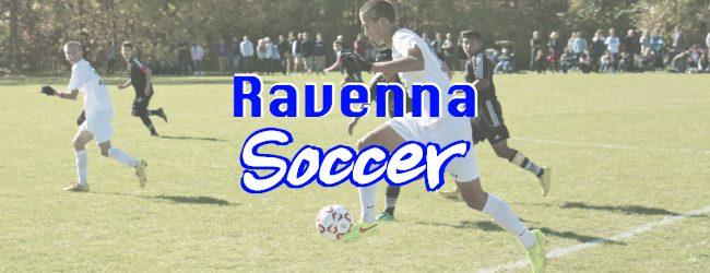 Ravenna soccer squad posts 5-0 shutout victory over Kent City