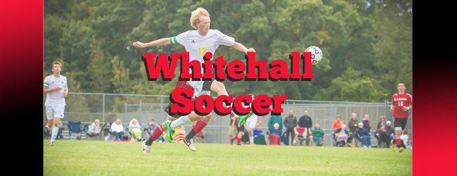 Daniel Dubois' hat trick leads Whitehall to soccer win