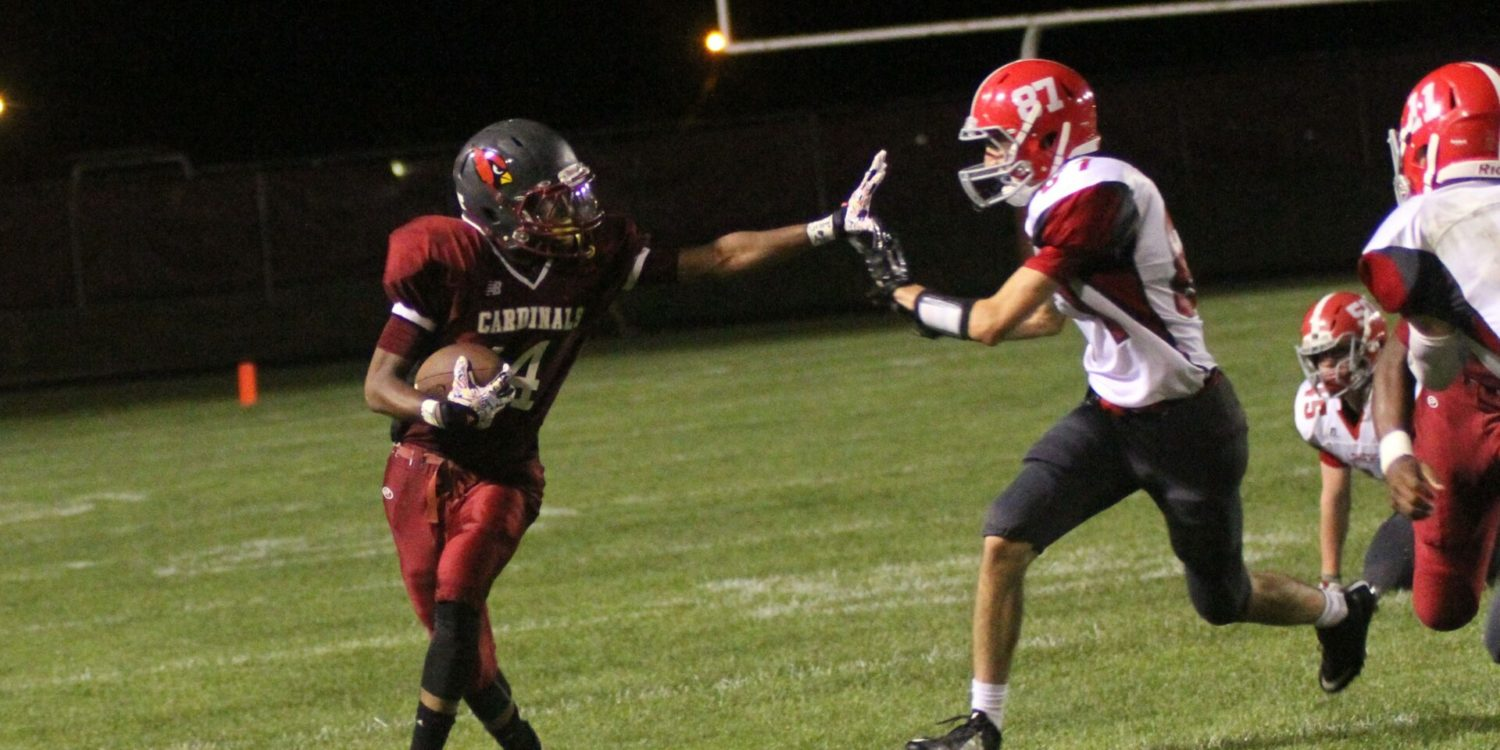 Hissom's late touchdown gives Spring Lake a 14-7 comeback win over Orchard View in Lakes 8 football action