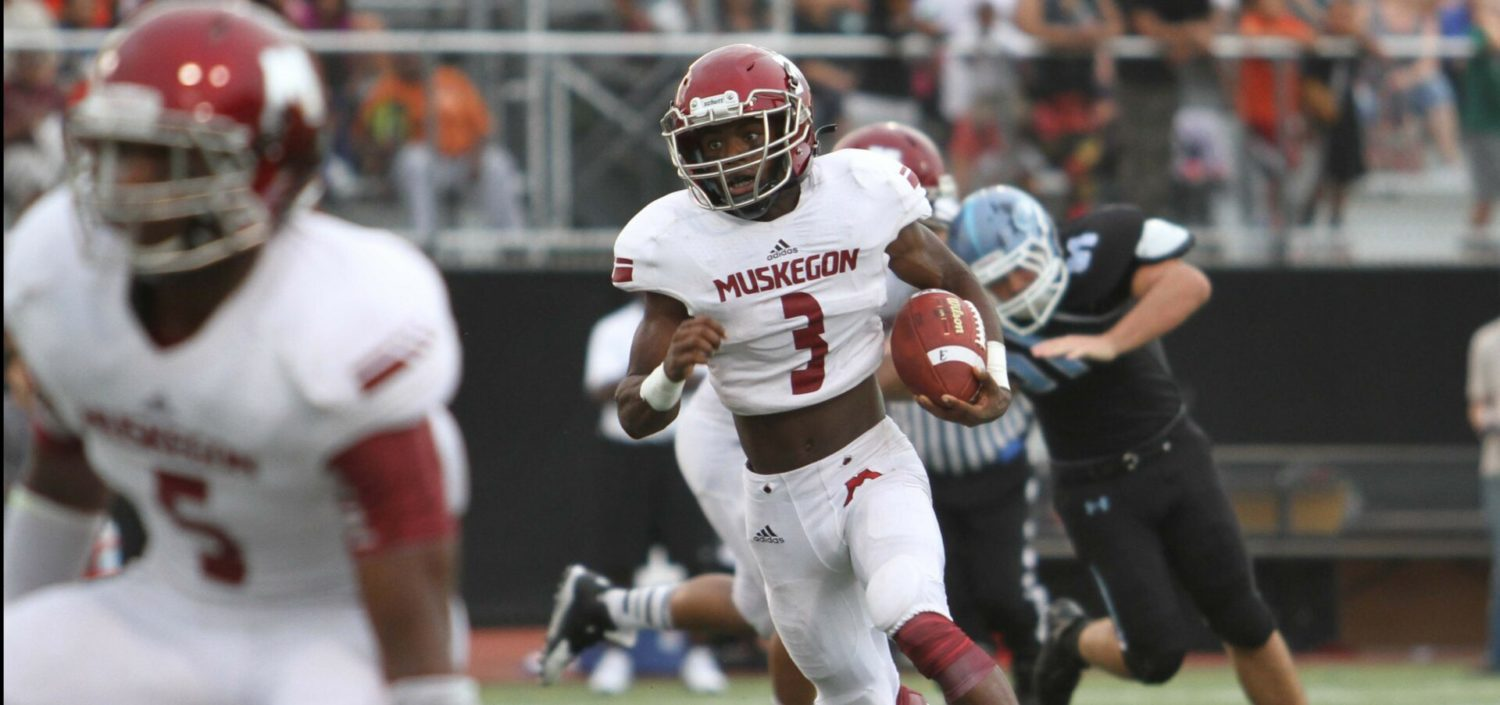 Big Reds get back on track, collect 799th victory in program history, with a 42-14 pasting of GR Christian