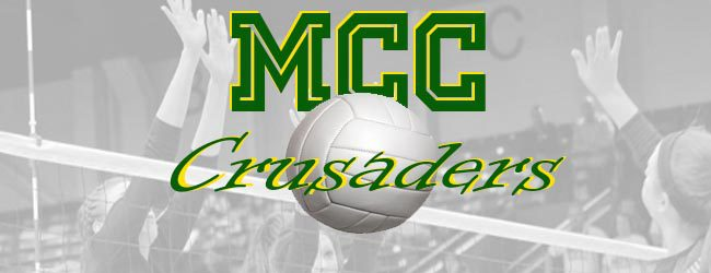 Crusaders cruise past Muskegon Heights in Lakes 8 volleyball match