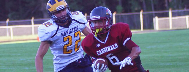Orchard View falls behind early in football loss to Manistee