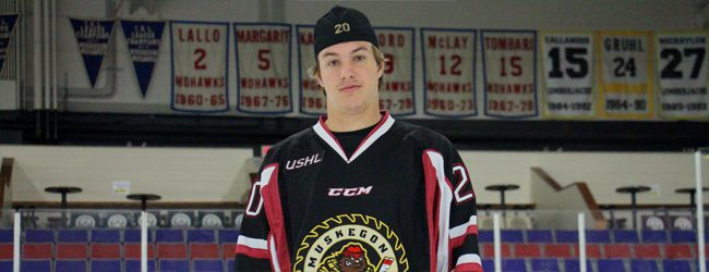 Lumberjacks lucky to have Matej Paulovic back to lend experience and a scoring touch to their young roster