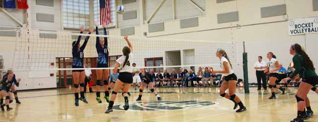 Mona Shores volleyball team begins title defense with easy win over Reeths-Puffer
