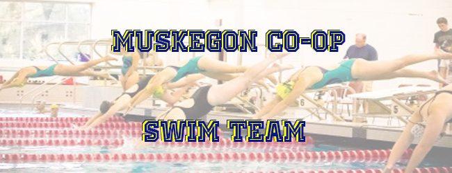 Muskegon-Mona Shores Co-op swim team falls to Jenison