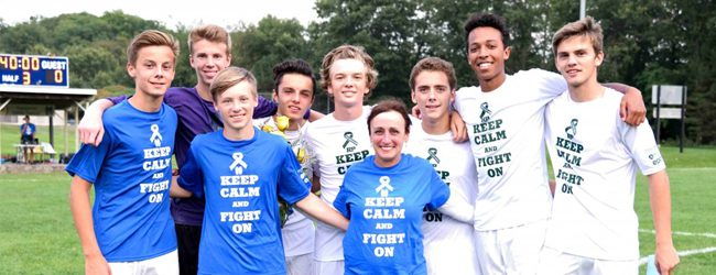 Reeths-Puffer downs Mona Shores 1-0 in soccer; both teams honor a player's mom who is battling cancer