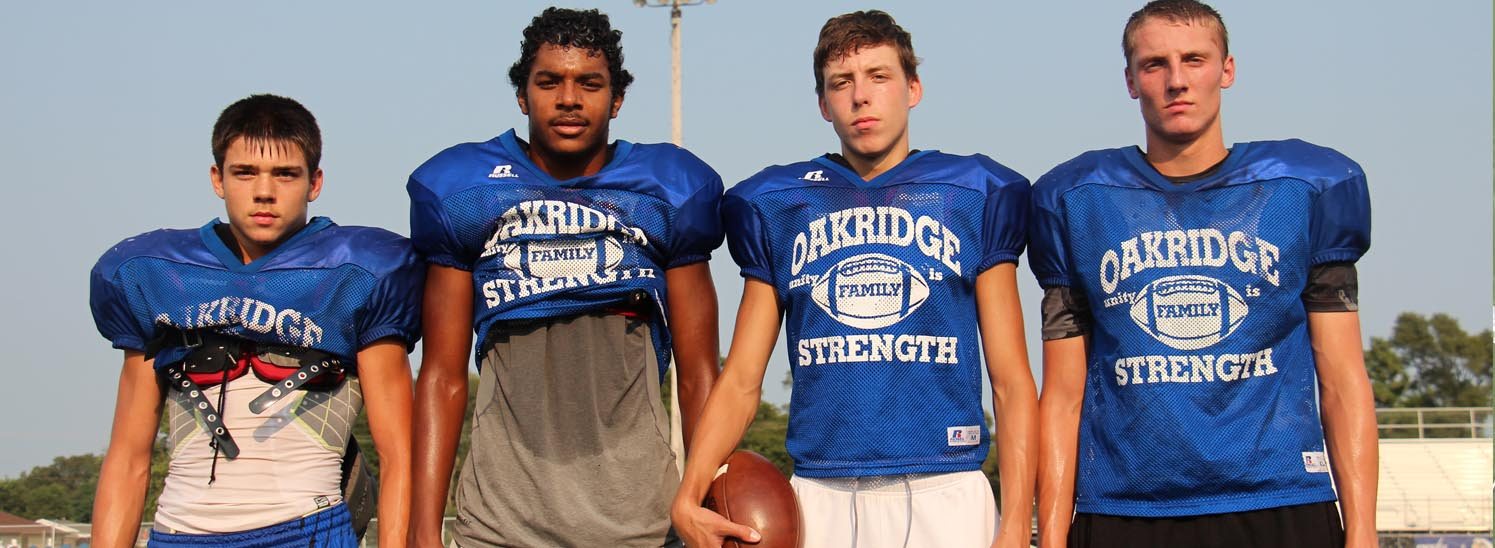 """Oakridge Eagles receiving corps proving to be a """"tall order"""" for opposing defenses"""
