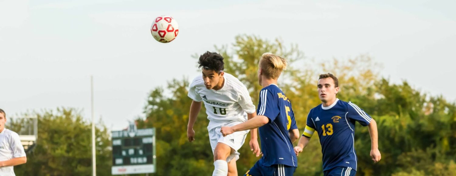 Muskegon Catholic soccer team avenges last year's district tournament loss, beating North Muskegon 3-1