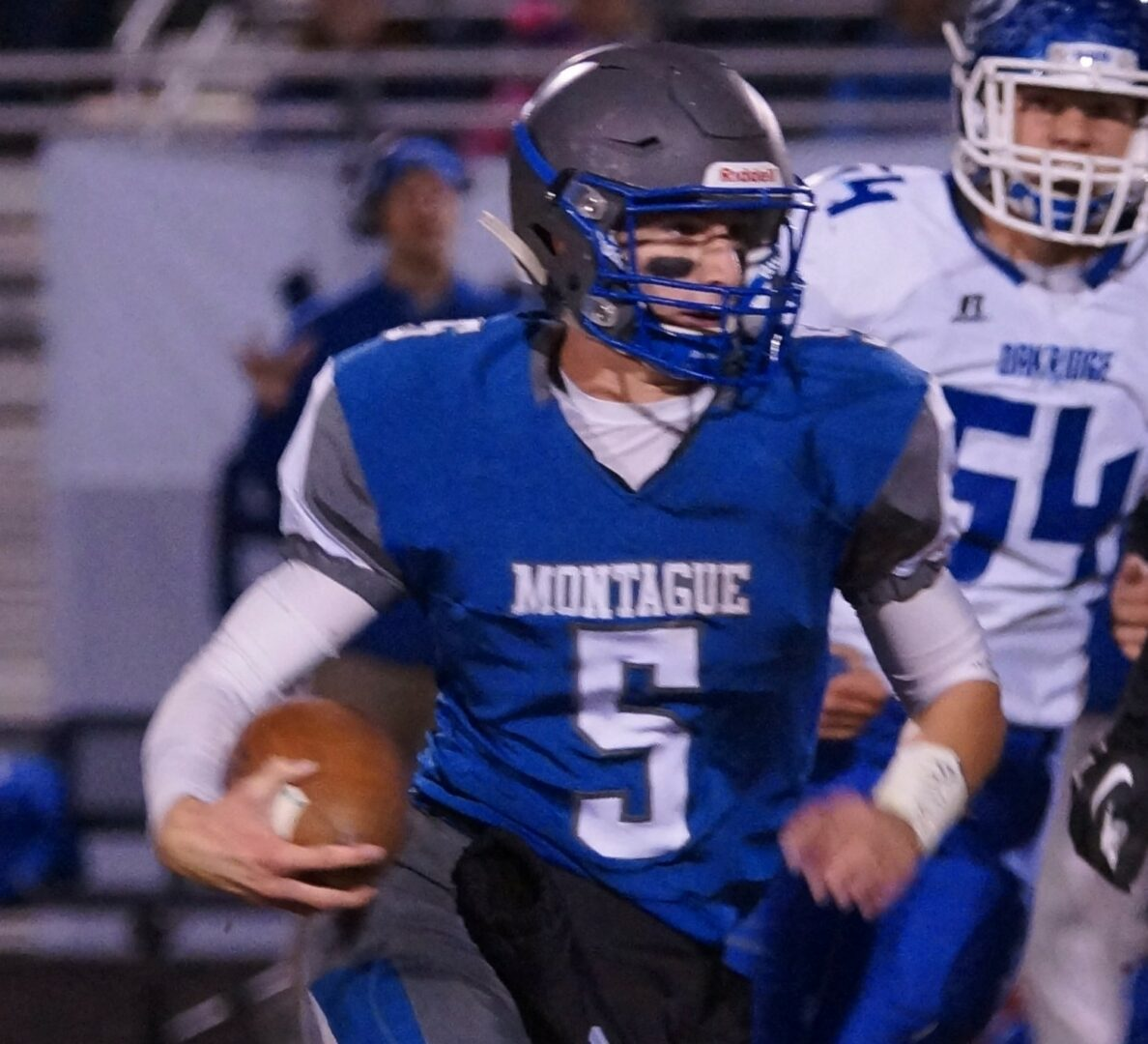 Buchberger's big interceptions allowed Montague to steal the West Michigan Conference title away from Oakridge