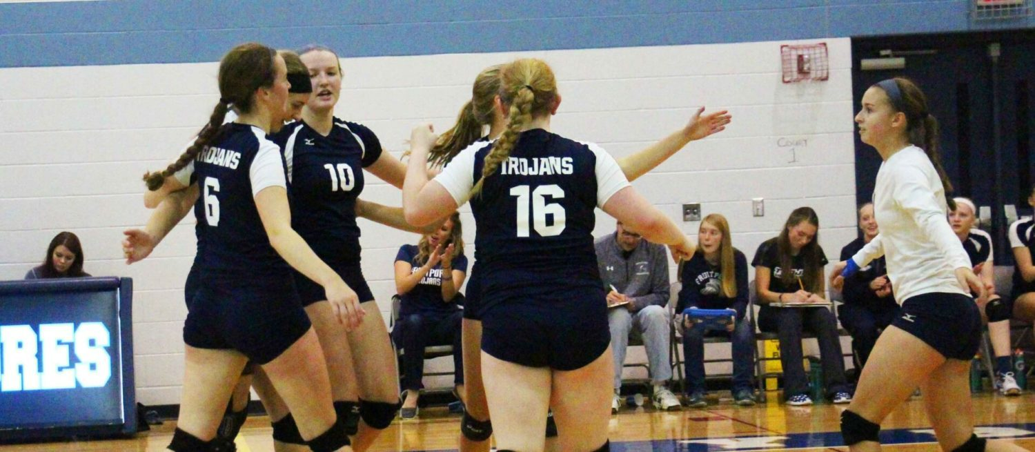 Fruitport  returns to the top of the hill by beating Whitehall in the finals of the GMAA City Volleyball Tournament
