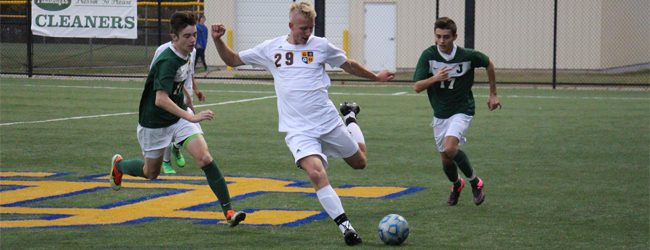 Grand Haven soccer team downs Jenison 2-1 in overtime in district opener, despite finishing a player short