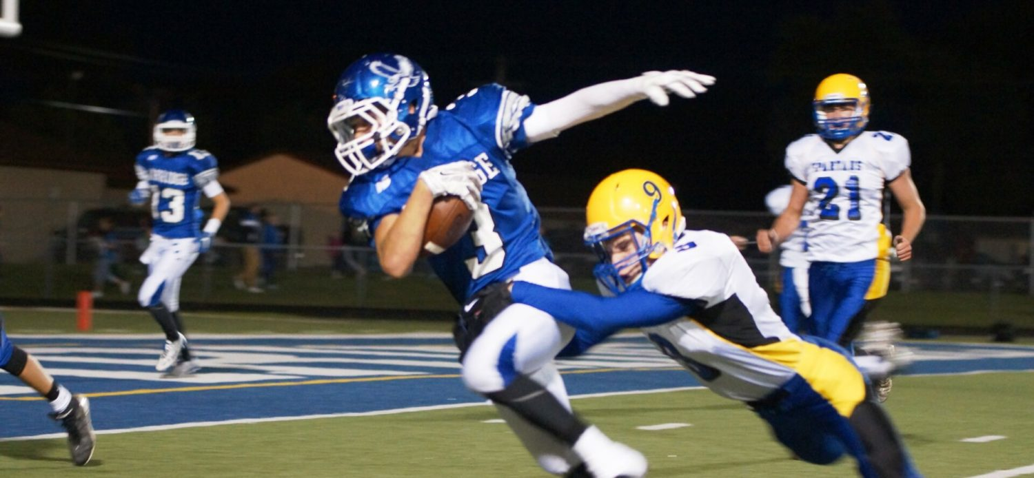 Oakridge stays focused on task at hand, beating Mason County Central 60-14 a week before Montague