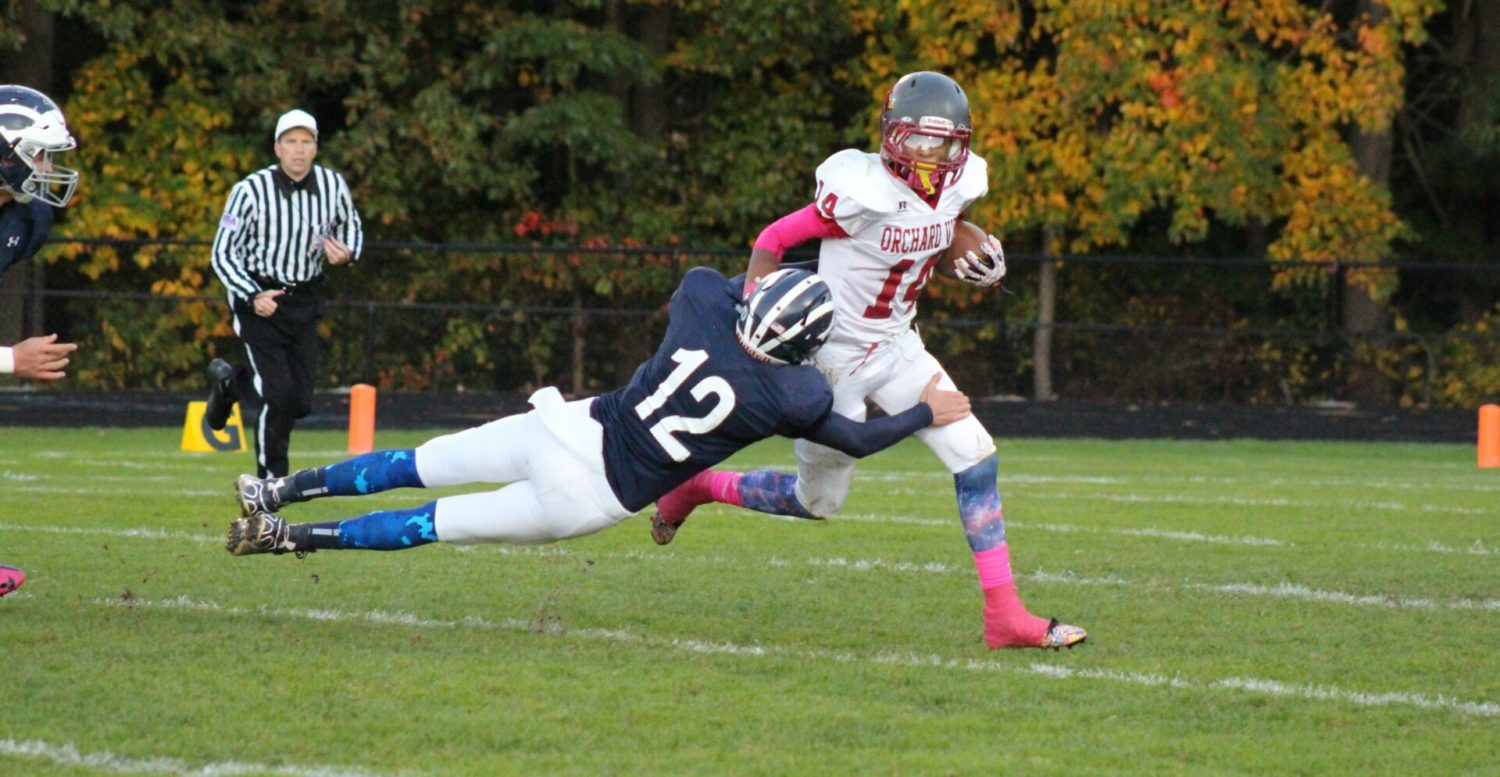 Fruitport begins its mad dash for the playoffs with a 49-14 victory over Orchard View