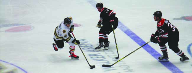 Lumberjacks drop third home game in a row, 7-2 to Chicago Steel