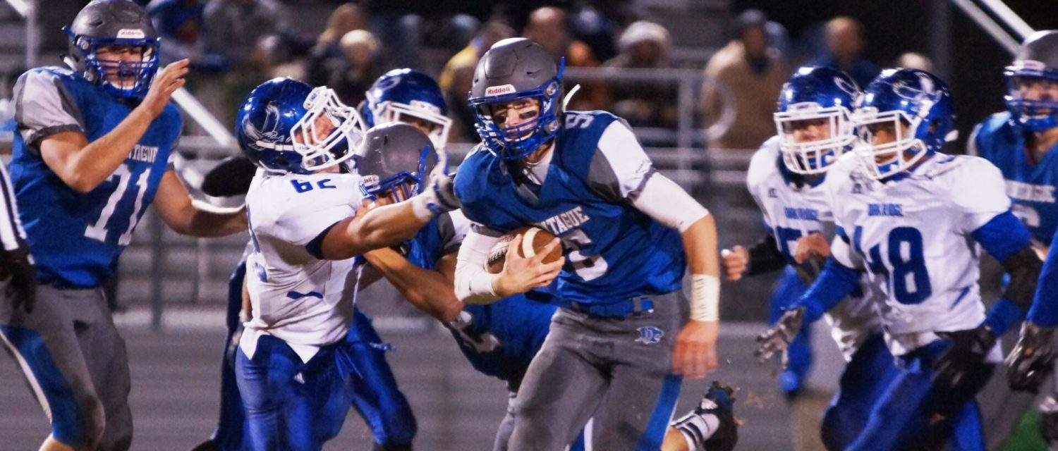 Montague rallies and beats Oakridge in overtime, 36-29, to claim the West Michigan Conference championship