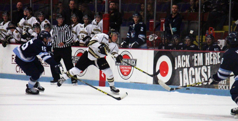 Lumberjacks drop second straight home game, 4-0 to Madison