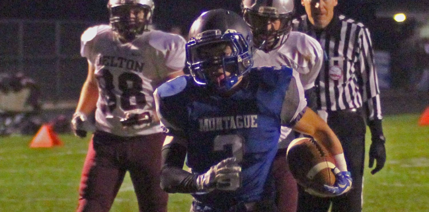 Montague overcomes the loss of star runner, plows past Delton Kellogg 49-12 in D6 playoffs