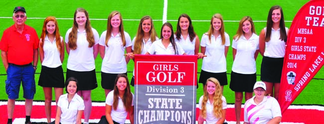 Spring Lake girls golf team cruises to second straight Division 3 state title, Anna Kramer takes first individually