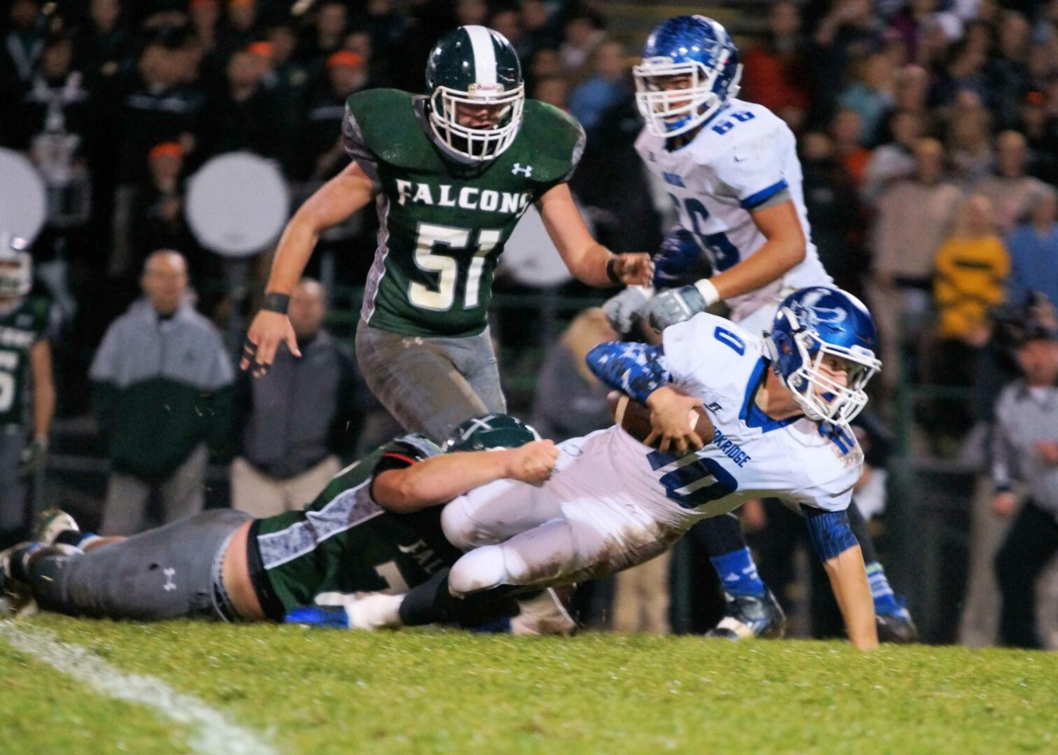 Oakridge falls to two-time defending state champion GR West Catholic in Division 5, 28-14