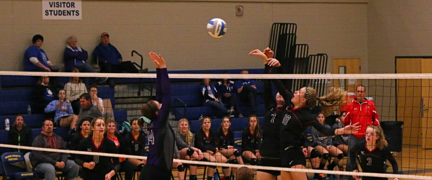 Photo gallery from the West Michigan Conference 2015 volleyball tournament