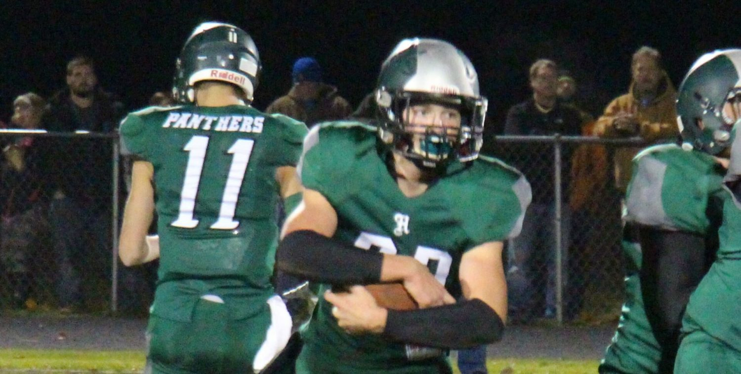 Hesperia's perfect football season comes to a stunning end with a 42-7 playoff loss to Saugatuck