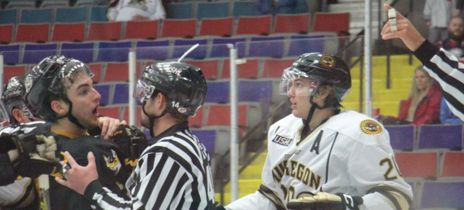 Lumberjacks rally and pull within a goal, then fall apart down the stretch of a 6-2 loss to Green Bay