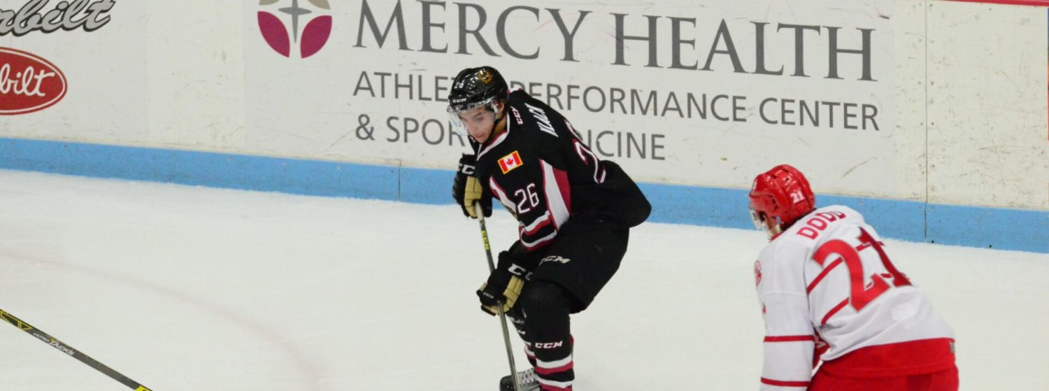 Lumberjacks' five-game win streak ends with a 5-3 loss to Dubuque