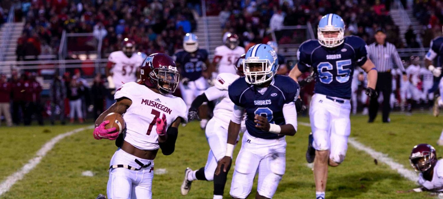 No rest for the Big Reds: After getting past Mona Shores, Muskegon will face a loaded Lowell squad in regionals