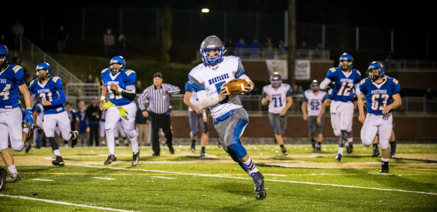 NorthPointe Christian ends Montague's magical season with a 95-yard scoring drive in the final two minutes of the game