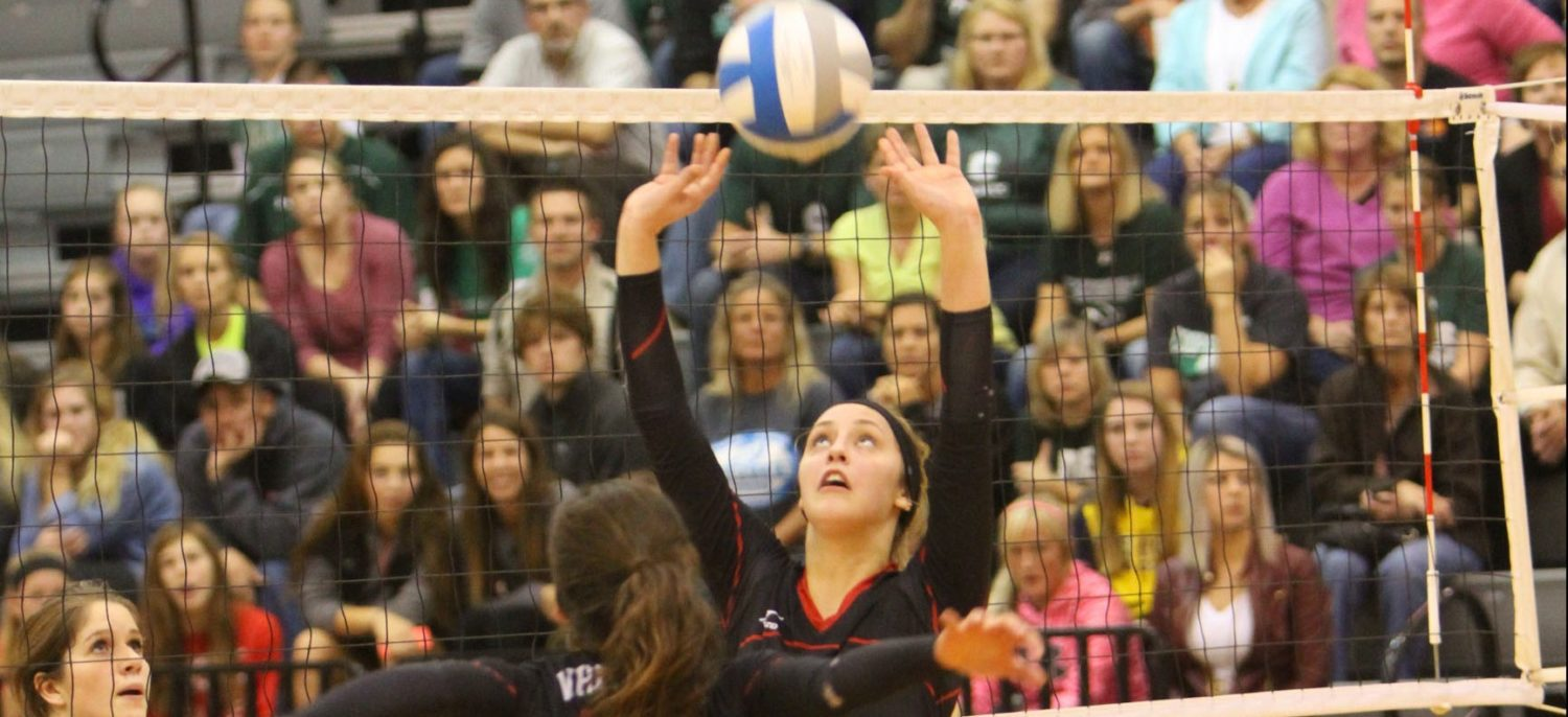Whitehall wins first two sets, then loses the next three and the Class B district title to Coopersville