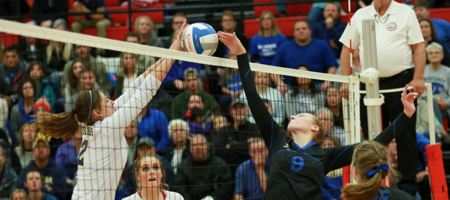 Montague's volleyball season ends with a loss to NorthPointe Christian
